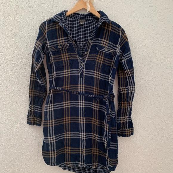 Eddie Bauer Tops - Eddie Bauer flannel shirt dress